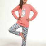 Dívčí pyžamo 353/115 Kids llama – CORNETTE