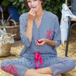 Dámské pyžamo Key LNS 451 A21 S-XL