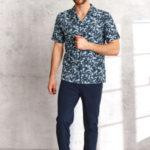 Pánské pyžamo Taro Gracjan 954 Kr/r 2XL-3XL L'21