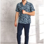 Pánské pyžamo 921 GRACJAN M-XL Jaro 2021
