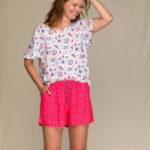 Dámské pyžamo Key LNS 946 A21 S-XL