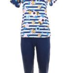 Dámské pyžamo 911 dark blue – REGINA