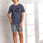 Chlapecké pyžamo Taro Damian 944 134 Modrá