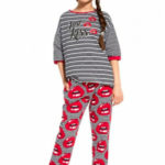Dívčí pyžamo 090/80 Kiss – CORNETTE
