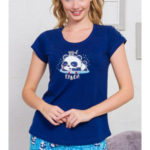 Dámské pyžamo šortky Malá panda – Vienetta