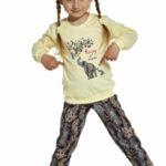 Dívčí pyžamo 592/133 Elephants – CORNETTE