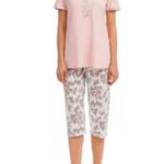 Dámské pyžamo 12037 růžová – Vamp