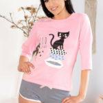 Dámské pyžamo Aprodit Cat – LivCo Corsetti