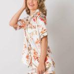 Dámské květované pyžamo