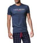Pánské pyžamo Henderson 39243 Myth kr/r M-XL
