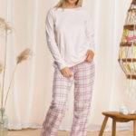 Dámské pyžamo Key LNS 042 B21 2XL-4XL
