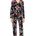 Vamp – Dvoudílné dámské propínací pyžamo 15109 – Vamp