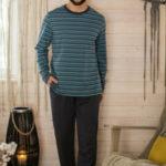 Pánské pyžamo MNS 351 B21 3XL-4XL