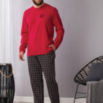 Pánské pyžamo MNS 432 B21 3XL-4XL