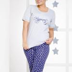209 Dámské pyžamo MAGDA krátké 4XL-6XL – TARO