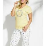 2186 Dámské pyžamo DONATA 2XL-3XL – TARO