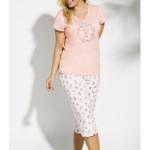 2187 Krátké dámské pyžamo DONATA 4XL-5XL – TARO