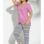 2192 Krátké dámské pyžamo ETNA 2XL-3XL – TARO