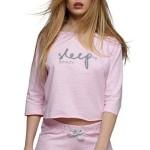Dámské pyžamo Sleep světle růžové
