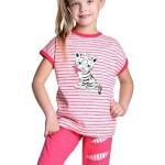 Dívčí pyžamo Amélie bílý tygřík