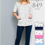 849BIG Dámské pyžamo