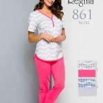 861 XXL Dámské pyžamo – REGINA