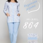 864BIG Dámské pyžamo