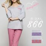 866BIG Dámské pyžamo
