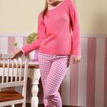 Bavlněné dámské pyžamo Majka