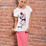 Bavlněné dámské pyžamo Sylvie II