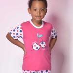 Bavlněné dětské pyžamo Cherry