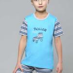 Bavlněné dětské pyžamo Roller skate