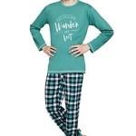 Chlapecké bavlněné pyžamo Miloš zelené