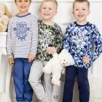 Chlapecké pyžamo 1171 dark blue