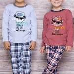 Chlapecké pyžamo 134 blue