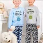 Chlapecké pyžamo 857 grey