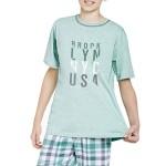 Chlapecké pyžamo Damián zelené