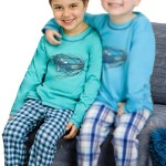 Chlapecké pyžamo Damián zelené s autem