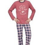 Chlapecké pyžamo Franta vínové Extreme sport