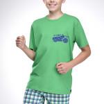 Chlapecké pyžamo František zelené