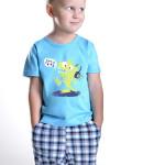 Chlapecké pyžamo Julek modré