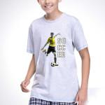 Chlapecké pyžamo Moro šedé