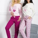 Dámské pyžamo 1003 Sara dark pink
