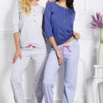 Dámské pyžamo 1026 Teresa blue