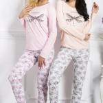 Dámské pyžamo 1198 Malina