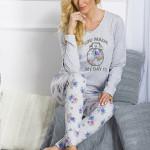 Dámské pyžamo 1198 Malina grey