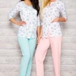 Dámské pyžamo 2122 pink