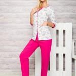 Dámské pyžamo 2126 Fabia fuchsia