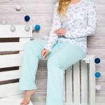 Dámské pyžamo 2132 blue