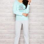 Dámské pyžamo 286 Sylwia blue